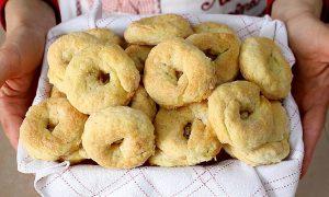 Caimbelle patate dolci - vassoio di ciambelle