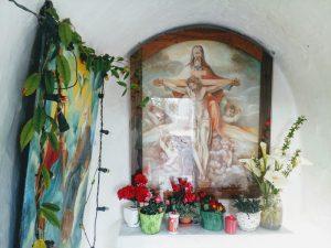 Interni della cappelletta dello Spirito Santo