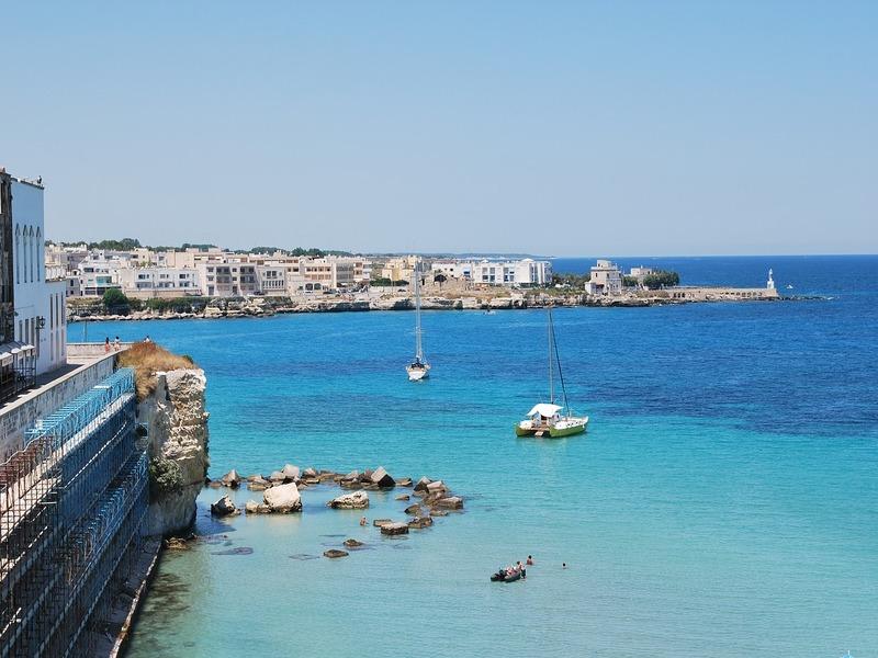 gallipoli primavera - Una veduta del mare di Gallipoli
