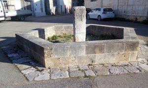 Menhir di Arigliano - incisioni a croce greca
