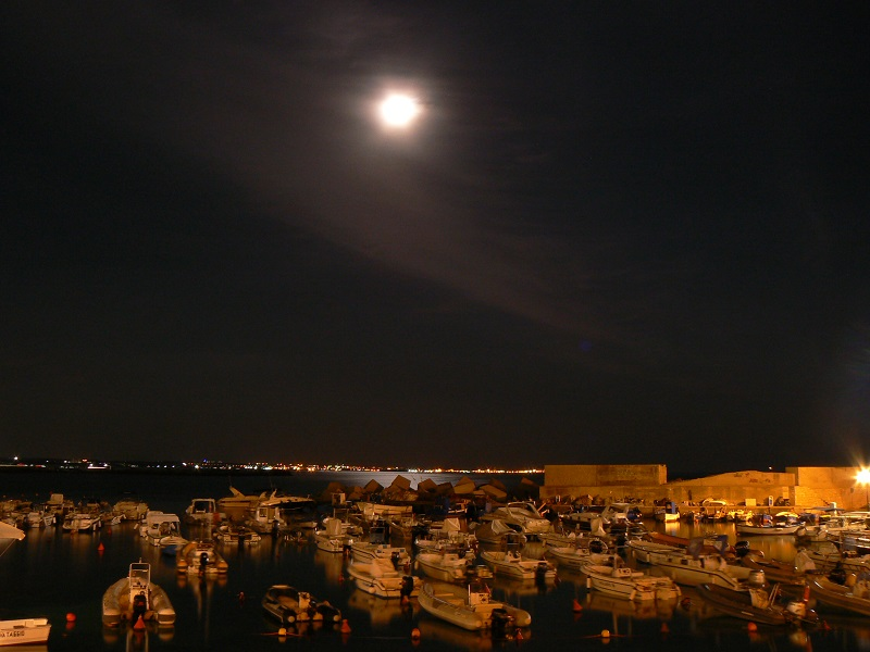Marine di Nardò: Santa Caterina di sera