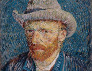 mostra di Van Gogh - Ritratto