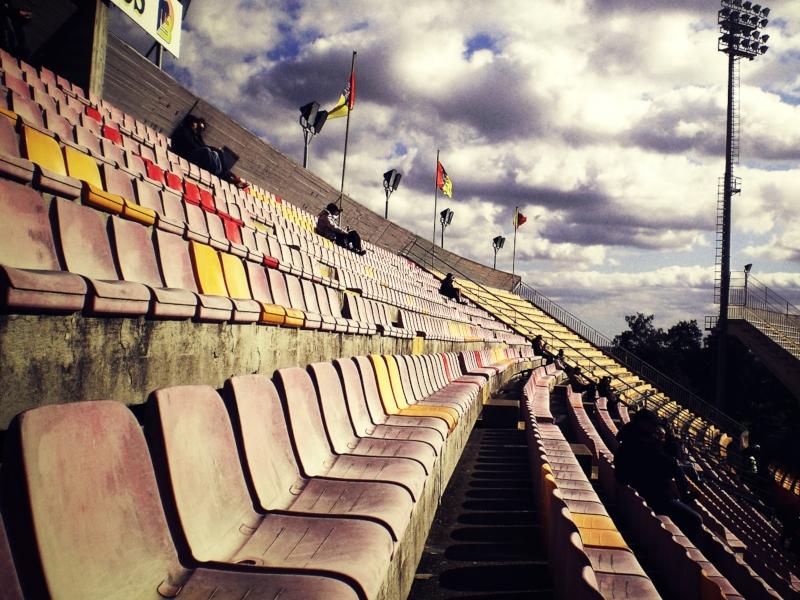 Una visuale dello Stadio Via Del Mare - Lecce