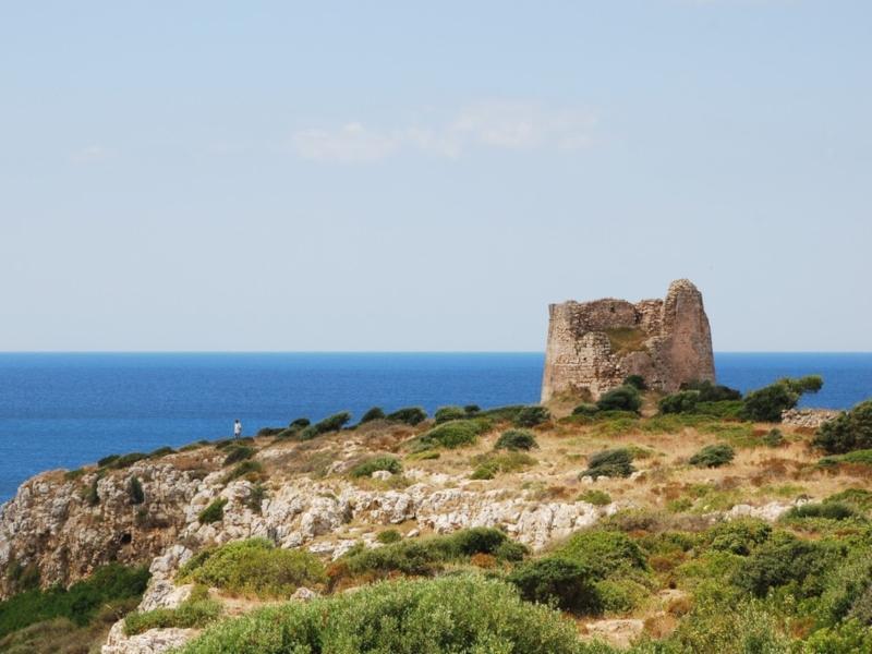 Torre Uluzzo - una delle torri più importanti salentine