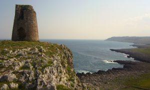 Panorama delle torri Costiere Del Salento