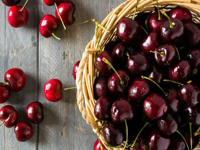 Sagra Ciliegie A Leverano - cesto di frutti