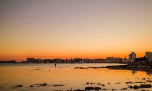 Vacanze A Porto Cesareo Un Tramonto