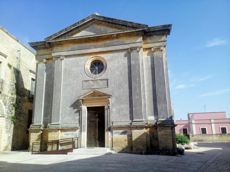 Chiesa Di San Crisostomo - prospetto neoclassico