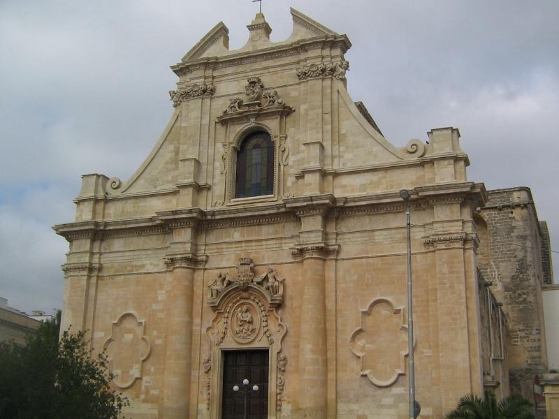 Chiesa Di Galatina Santa Maria Della Grazia - facciata centrale
