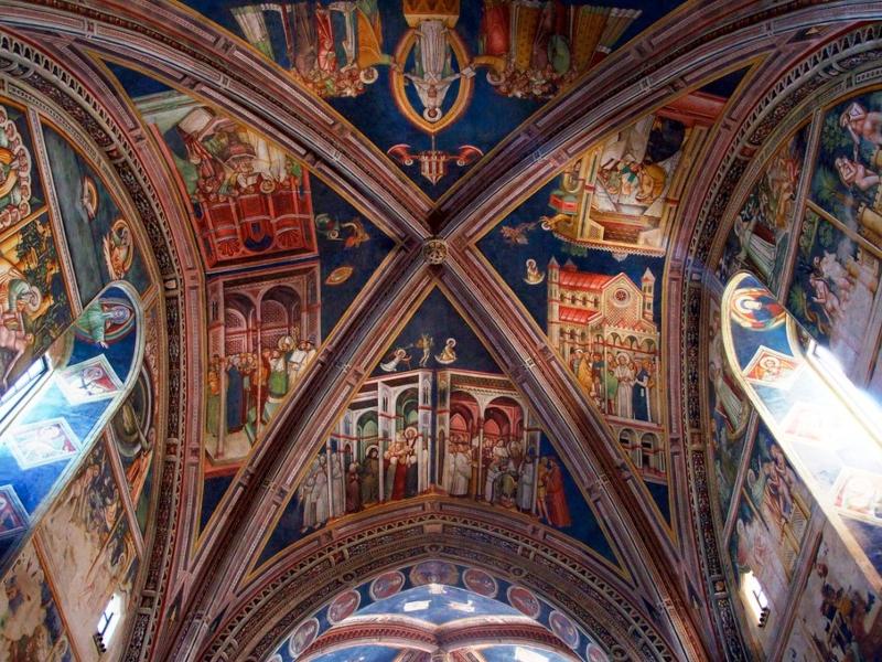 Chiesa Di Santa Caterina D'alessandria - volte decorate