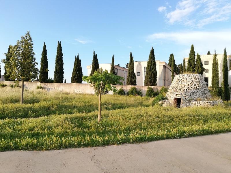 costruzioni antiche nel parco di Belloluogo a Lecce