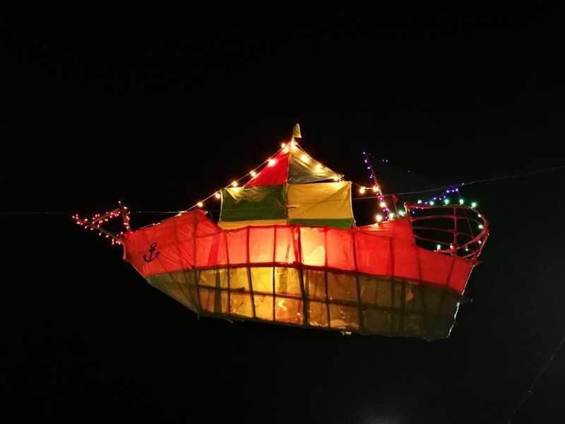 Festa Dei Lampioni Calimera - Installazione Luminosa Barca