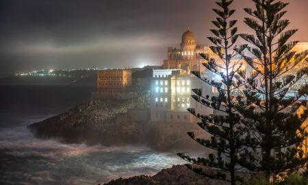 Foto Di Alfonso Zuccala Con scorcio sul mare e su una Villa Di Santa Cesarea Terme