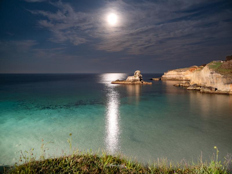 Foto Di Alfonso Zuccala che ritrae il mare di Sant'Andrea di Sera