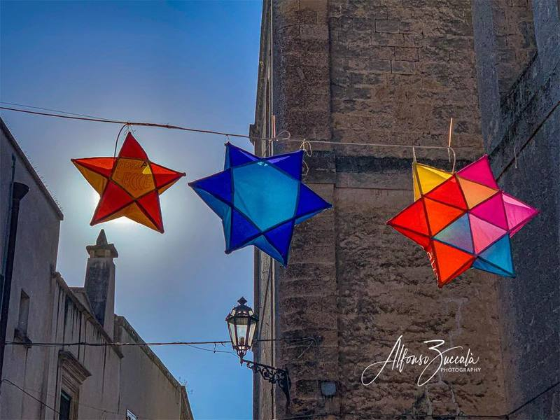 La Festa Dei Lampioni Calimera Foto Di Alfonso Zuccala