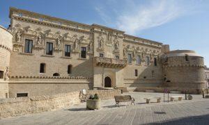 Visione del castello di corigliano in cui ha luogo il festival sud est indipendente