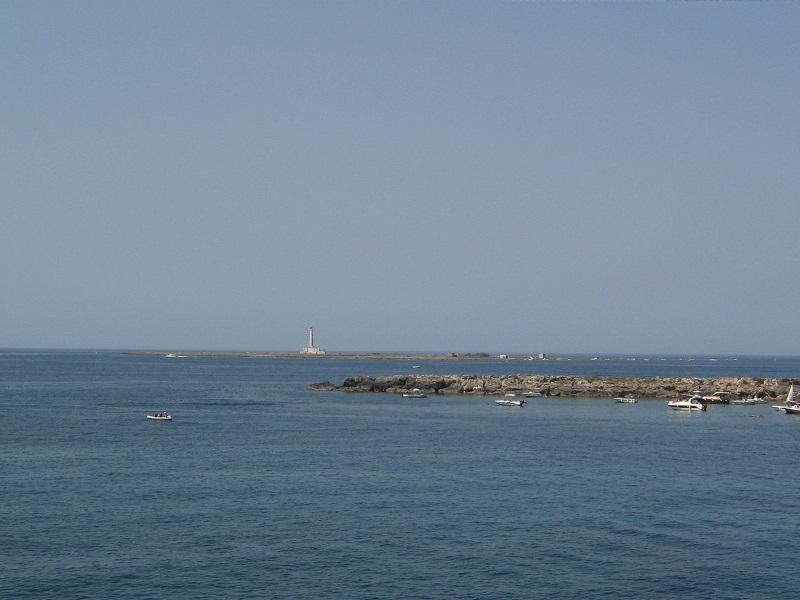 Isola Di Sant Andrea A Gallipoli E Panorama