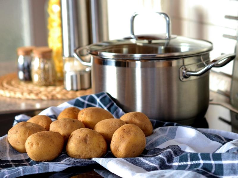 Pitta Di Patate Salentina Con Patate Gialle