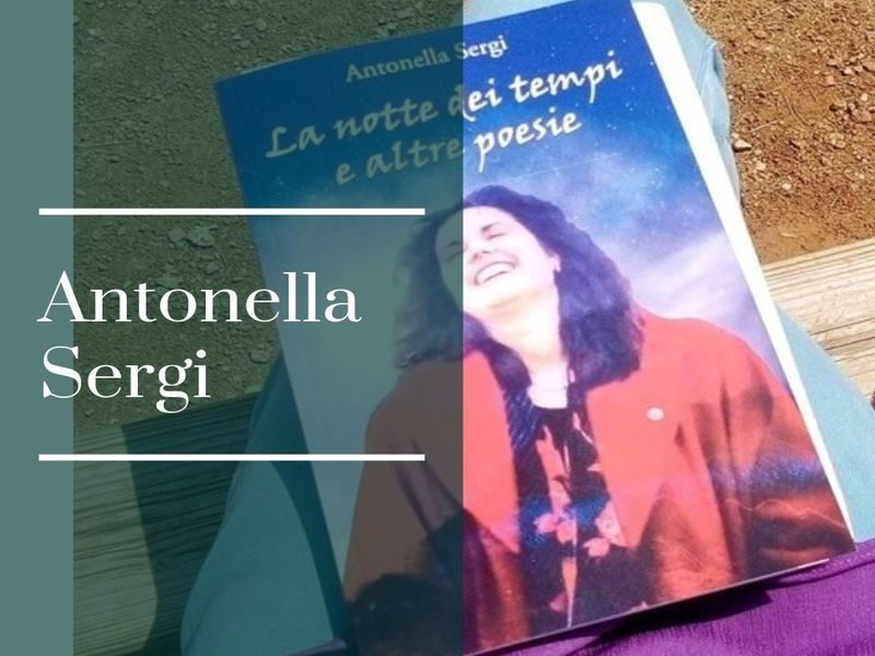 Copertina del libro postumo della poetessa Sergi