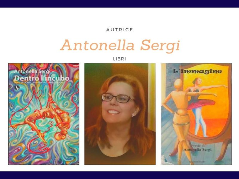 Antonella Sergi - copertine dei suoi libri