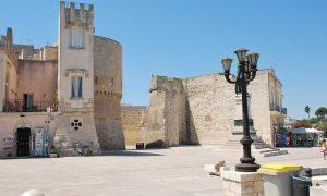 Le mura del Castello di Otranto