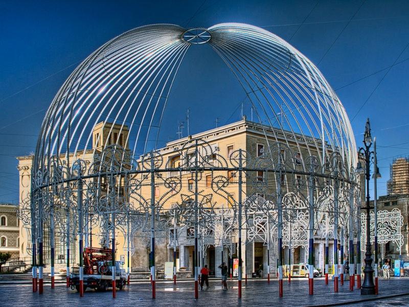 Festa Di Sant Oronzo A Lecce - La Piazza