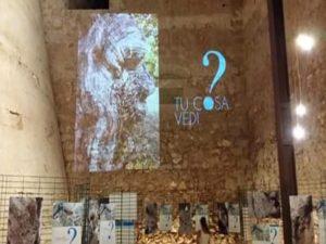Ologramma sulle pareti di Torre Matta