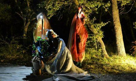 Shakespeare Cesine Onirica Teatro Foto Dello Spettacolo In Notturna