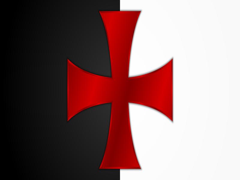 La croce rossa simbolo dei Templari