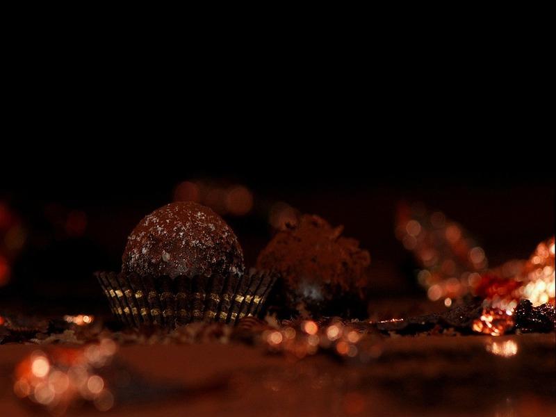 Pasticcini al Cacao e tartufo