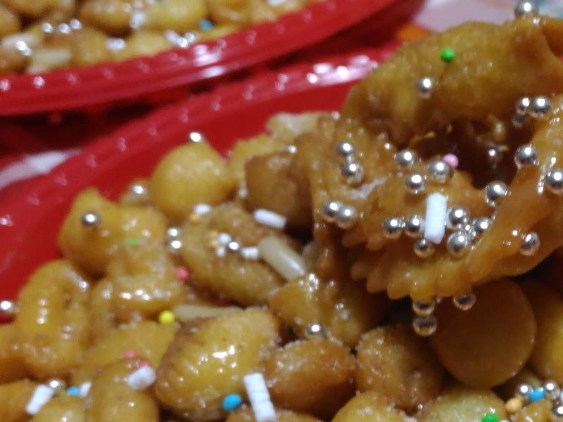 i dolci tipici di natale a lecce i purceddhruzzi