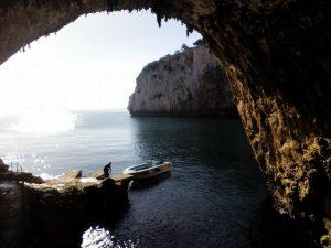 Grotta Zinzulusa dall'interno