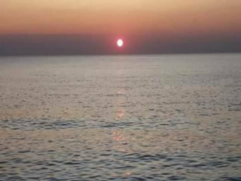 Visuale di un tramonto salentino - Squarci