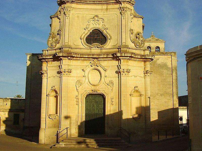 Prospetto Chiesa Di San Vito Castrì di Lecce