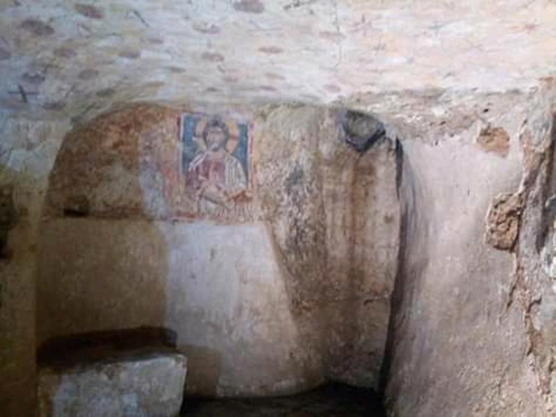 Cripta Di Ugento un vano interno