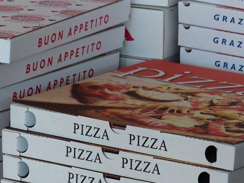 Pizza Food Delivery Lecce Coronavirus