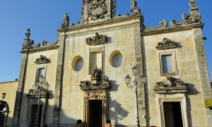 Sanarica caratteristico Santuario Madonna Delle Grazie