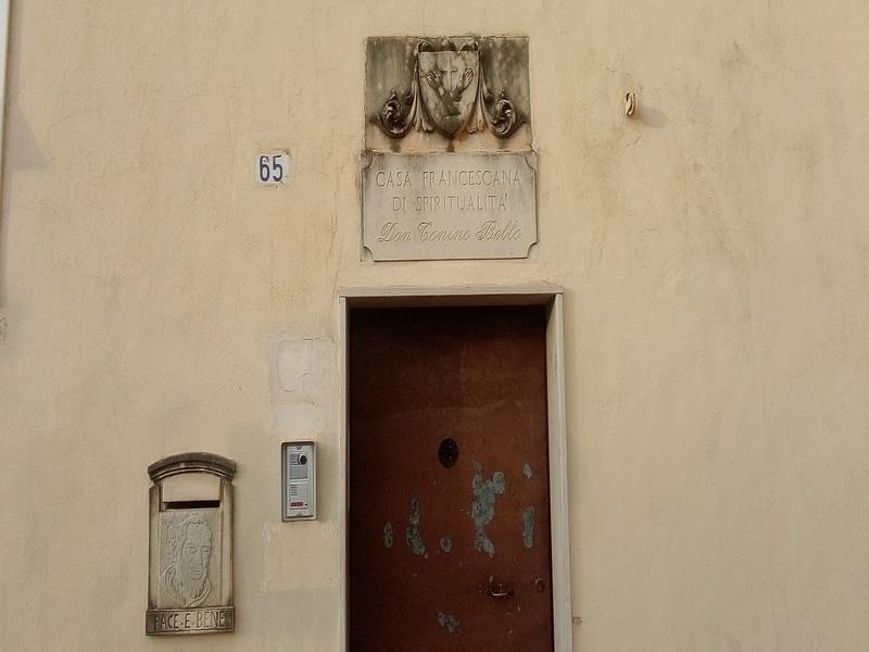Porta Del Convento Cappuccini di Alessano