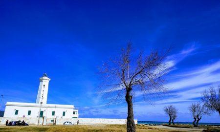 San Cataldo Litorale Adriatico Salento Veduta Del Faro