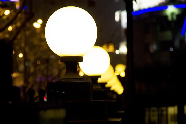 Lampioni Notturni dall'aspetto soave