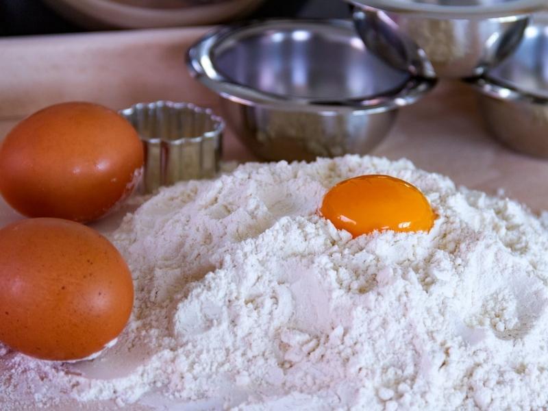 Gli Ingredienti delle pasterelle