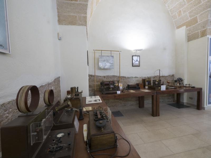 Interno del Museo della radio