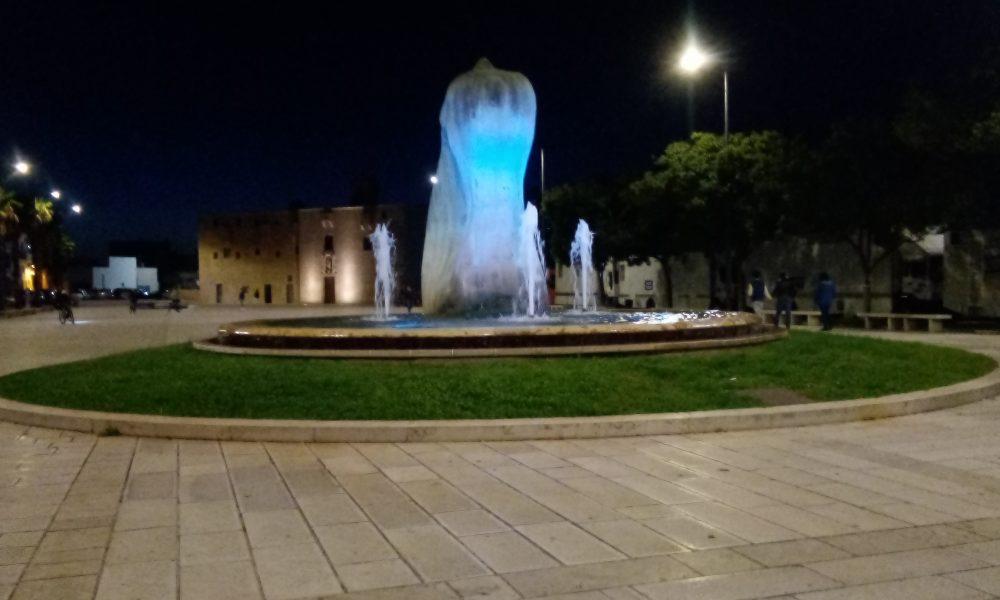 Elegante veduta di Piazza Cappuccini a Tricase