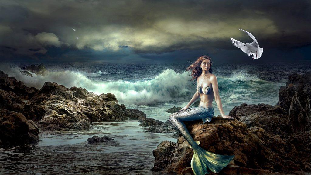 Sirena Su Scogli a Fanum