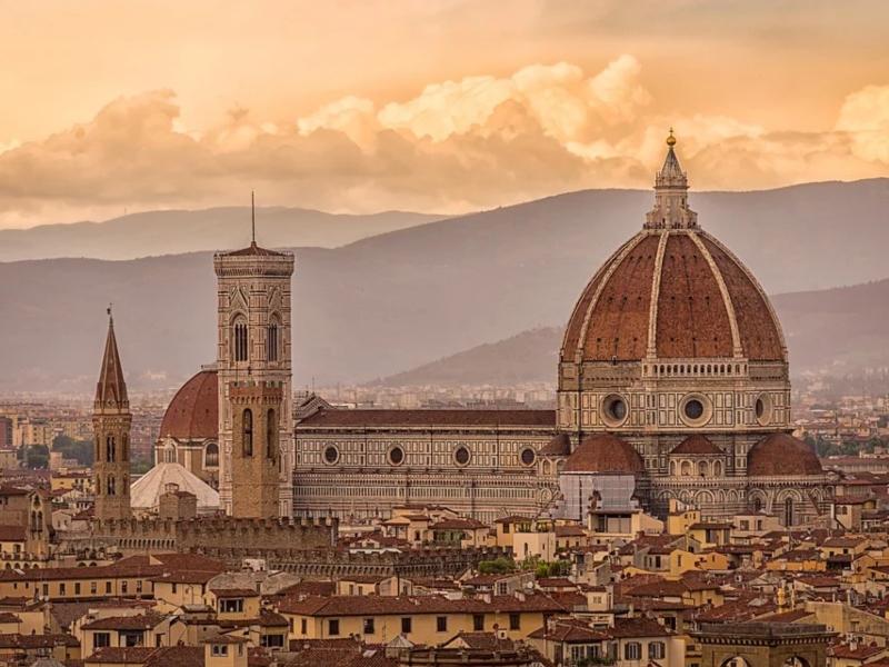 Firenze, Panorama dall'alto