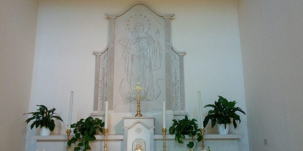 Altare Interno Alla Chiesa Santelia A Ruggiano