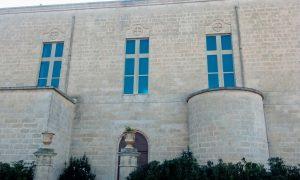 Facciata Laterale Della Chiesa Di Sant'elia A Ruggiano