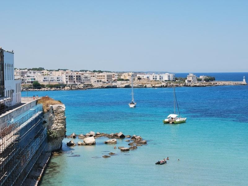 Un angolo di mare a Otranto
