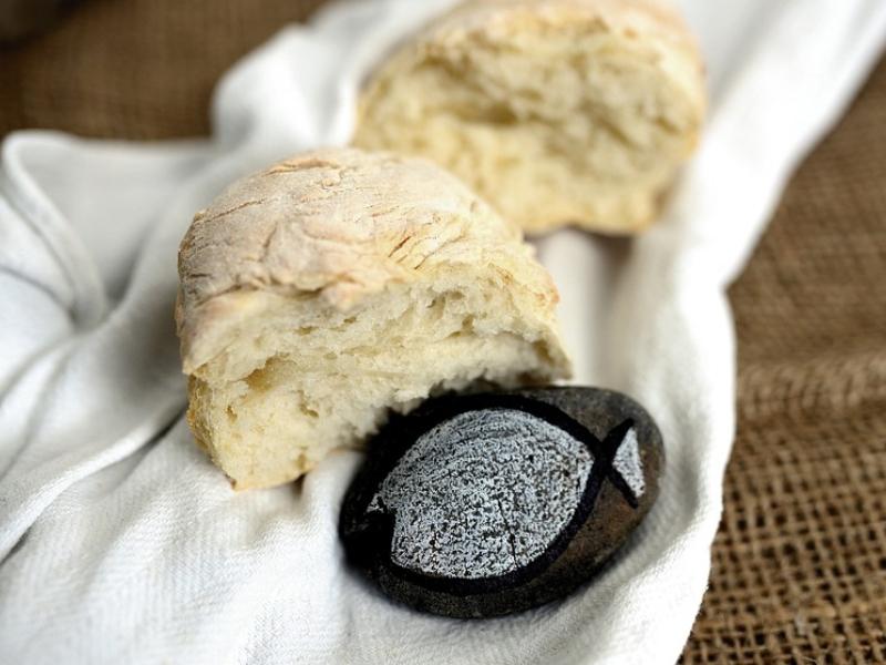 Pane per le tavolate di San Giuseppe