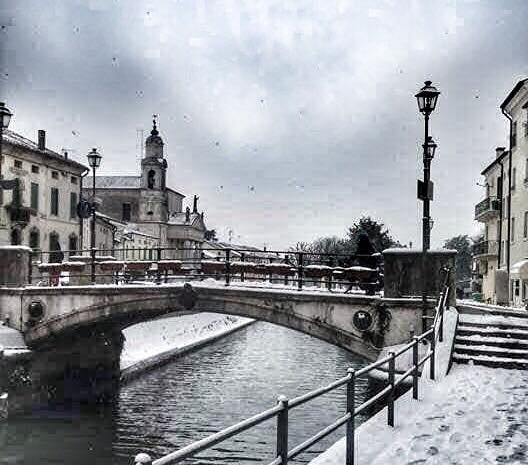 """E' di nuovo Bianco Natale"""" - ph Lucia Bignardi"""